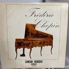 Discos de vinilo: SAMSON FRANÇOIS - FRÉDÉRIC CHOPIN - 24 PRELUDIOS, OP. 28 (LP, ALBUM). Lote 297062623