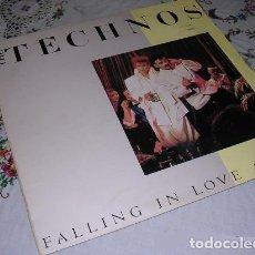 Discos de vinilo: THE TECHNOS FALLING IN LOVE AGAIN. Lote 297065708