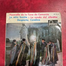 Discos de vinilo: LA TUNA SINGLE EP DE 1961. Lote 297067233