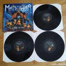 Discos de vinilo: VINILO MANOWAR – GODS OF WAR. EUROPE 2007.. Lote 297067553