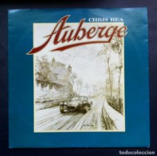 Discos de vinilo: CHRIS REA - AUBERGE / HUDSON'S DREAM - SINGLE 1991 - EASTWEST. Lote 297069458