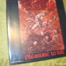 Discos de vinilo: KREATOR. PLEASURE TO KILL. NOISE, 1986. (#). Lote 297071243