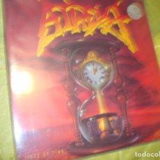 Discos de vinilo: ATHEIST. PIECE OF TIME. ACTIVE RECORDS, EDC. UK. 1990. CIN INSERT. (#). Lote 297071943