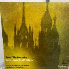 "Discos de vinilo: TCHAIKOVSKY, IGOR MARKEVITCH - SEXTA SINFONIA ""PATETICA"" (LP, ALBUM). Lote 297073438"