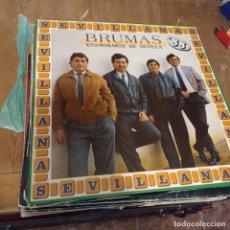 Discos de vinilo: LP SEVILLANAS - BRUMAS - ENAMORARSE DE SEVILLA (SPAIN, HISPAVOX 1988). Lote 297074113