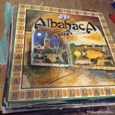 Discos de vinilo: LP - ALBAHACA - SEVILLANAS 88-VIVIR SEVILLA (SPAIN, HISPAVOX 1988). Lote 297074513