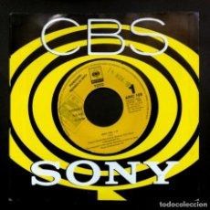 Discos de vinilo: TOTO - ONLY YOU - SINGLE PROMOCIONAL 1992 - CBS. Lote 297075813
