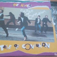 Discos de vinilo: THE KINKS STATE OF CONFUSION LP 1983. Lote 297077143
