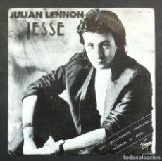 Discos de vinilo: JULIAN LENNON - JESSE - SINGLE PROMOCIONAL 1985 - CHARISMA. Lote 297077343