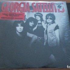 Discos de vinilo: GEORGIA SATELLITES GEORGIA SATELLITES LP 1986 U.S.A EDITION. Lote 297077518