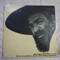 Discos de vinilo: JORGE CAFRUNE - LA VUELTA DEL MONTONERO - LP 1973. Lote 297077753