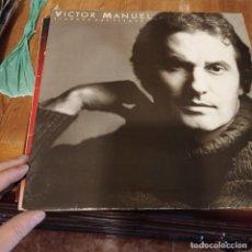 Discos de vinilo: LP - ANA BELEN - PARA LA TERNURA / VICTOR MANUEL - SIEMPRE HAY TIEMPO. Lote 297079003