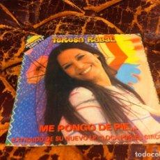 Discos de vinilo: SINGLE / EP. TERESA RABAL. ME PONGO DE PIE... 1982. Lote 297079623