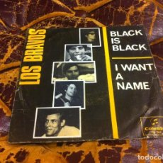 Discos de vinilo: SINGLE / EP. LOS BRAVOS. BLACK IS BLACK. I WANT A NAME. 1966. Lote 297082313