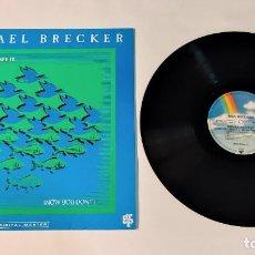 """Discos de vinilo: 1021- MICHAEL BRECKER NOW YOU /DONT SEE IT GER 1990 VIN 12"""" LP P VG+ D VG+. Lote 297082878"""