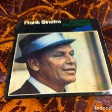 Discos de vinilo: SINGLE / EP. FRANK SINATRA. EXTRAÑOS EN LA NOCHE. LLAMA. DOWNTOWN. VIENTO ESTIVAL. 1966. Lote 297083363