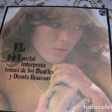 Discos de vinilo: LP PAUL MARIAT INTERPRETA TEMAS DE LOS BEATLES Y DEMIS ROUSSOS. Lote 297083528