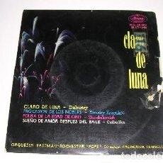 Discos de vinilo: CLARO DE LUNA DEBUSSY ORQUESTA EASTMAN ROCHESTER POPS DIR. FREDERICK FENNEL. Lote 297084038