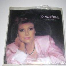 Discos de vinilo: SOMETIMES ELAINE PAIGE. Lote 297084263