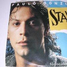 Discos de vinilo: PAULO GONZO STAY / ALL OVER THE WORLD SINGLE 1987. Lote 297084918