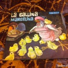 Discos de vinilo: SINGLE / EP. LA GALLINA MARCELINA. CUADRO DE ACTORES DE RADIO MADRID. 1964. Lote 297084943