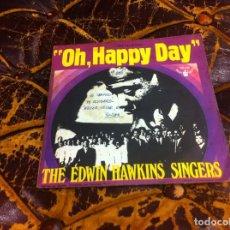 Discos de vinilo: SINGLE / EP. THE EDWIN HAWKINS SINGERS. OH, HAPPY DAY. JESUS, LOVER OF MY SOUL. 1969. Lote 297086078