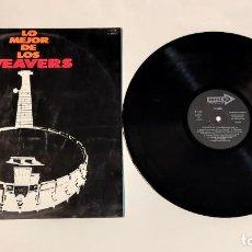 """Discos de vinilo: 1021- LO MEJOR DE LOS WEAVERS VOL 2 VIN 12"""" LP POR VG+ DIS VG+ 1970 ES. Lote 297093488"""