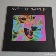 Discos de vinilo: WHITE WOLF - STANDING ALONE. Lote 297098603