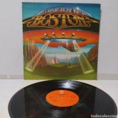 Discos de vinilo: BOSTON - DON'T LOOK BACK 1978 ED HOLANDESA GATEFOLD CON ENCARTE. Lote 297099678