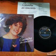 Discos de vinilo: CARMIÑA GALLO CARMINA EN CONCIERTO LP VINILO DEL AÑO 1988 COLOMBIA CON ENCARTE JAIME LLANO 10 TEMAS. Lote 297101868