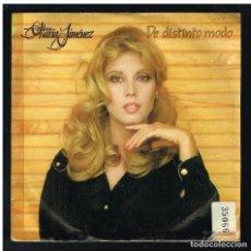 Discos de vinilo: MARIA JIMENEZ - DE DISTINTO MODO / AY DE TI - SINGLE 1981 - PROMO. Lote 297107218