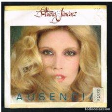 Discos de vinilo: MARIA JIMENEZ - AUSENCIA / CUANDO ME DICES YO TE QUIERO - SINGLE 1981 - PROMO. Lote 297110958