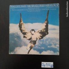 Discos de vinilo: HALLELUJAH. Lote 297112623