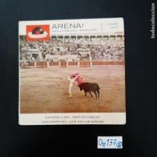 Discos de vinilo: ARENA. Lote 297113413