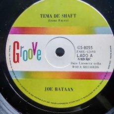 Discos de vinilo: JOE BATAAN – TEMA DE SHAFT / JOHNNY NO ES BUENO SIMPLE ARGENTINO PROMO 1971. Lote 297115193