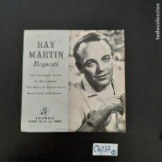 Discos de vinilo: RAY MARTIN. Lote 297117543