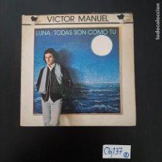 Discos de vinilo: VICTOR MANUEL. Lote 297117788