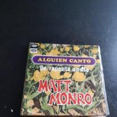 Discos de vinilo: MATT MONRO. Lote 297119863