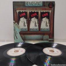 Discos de vinilo: RENAISSANCE - LIVE AT CARNEGIE HALL 1976 ED ITALIANA GATEFOLD. Lote 297122848
