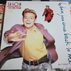 Discos de vinilo: JASON DONOVAN – WHEN YOU COME BACK TO ME.1989. EPIC – EPC 655687 6. NUEVO. MINT / VG+++. Lote 297123293