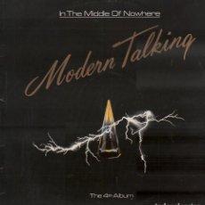 Discos de vinilo: MODERN TALKING - IN THE MIDDLE OF NOWHERE / LP ANSA DE 1986 / BUEN ESTADO RF-10754. Lote 297144318