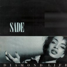 Discos de vinilo: SADE - DIAMOND LIFE / LP CBS DE 1984 / BUEN ESTADO RF-10770. Lote 297149008