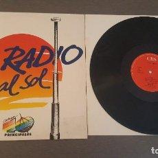 Discos de vinilo: LA RADIO AL SOL CADENA 40 PRINCIPALES CANTA VICKY LARRAZ MAXI SINGLE (TRES VERSIONES) 1989. Lote 297151888