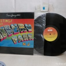 Discos de vinilo: BRUCE SPRINGSTEEN ..GREETINGS FROM--N.J.-MADRID- 1977 -CBS-. Lote 297155123