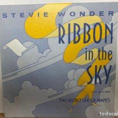 """Discos de vinilo: STEVIE WONDER - RIBBON IN THE SKY = LAZO EN EL CIELO (7"""", SINGLE) (MOTOWN) SPBO 60029. Lote 297156333"""