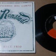 Discos de vinilo: LINDA RONSTADT / GRITENME PIEDRAS DEL CAMPO / SINGLE 7 PULGADAS. Lote 297157153