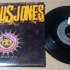 Discos de vinilo: JESUS JONES / WHO? WHERE? WHY? / SINGLE 7 PULGADAS. Lote 297157888