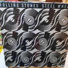 Discos de vinilo: THE ROLLING STONES - STEEL WHEELS - LP. SELLO ROLLING STONES RECORDS 1989. Lote 297170728