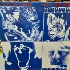 Discos de vinilo: THE ROLLING STONES - EMOTIONAL RESCUE - LP. SELLO ROLLINGS STONES RECORDS 1980. Lote 297171653