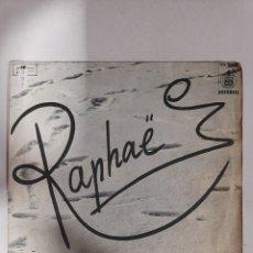Discos de vinilo: MV397 RAPHAEL MI AMANTE NIÑA MI COMPAÑERA Y VOLVERÉ - MINI VINILO DE SEGUNDAMANO. Lote 297235628